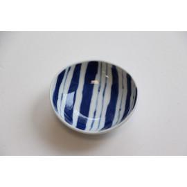 """Sojasoße-Schälchen """"Shima Tokusa"""" aus Hasami-Porzellan"""